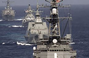 Japan Maritime Self-Defense Force destroyer - Malabar 07 Naval Exercise