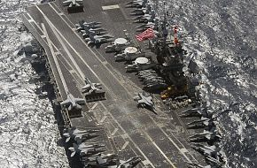 USS Kitty Hawk (CV 63) - Malabar 07 Naval Exercise