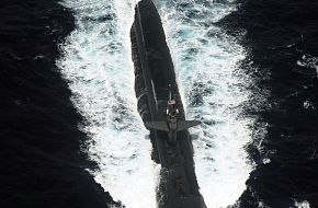 Attack submarine USS Chicago (SSN 721) - Malabar 07 Naval Exercise