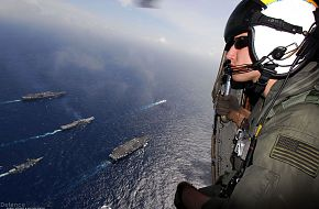 Aviation Warfare Systems Operator - Malabar 07 Naval Exercise