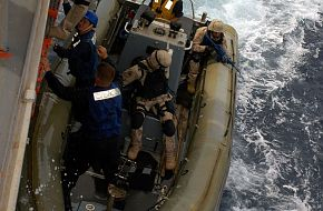 search and seizure team - Malabar 07, Naval Exercise