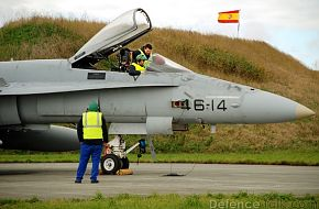 F-18 Fighter Aircraft - Spanish Air Force, Bold Avenger 2007