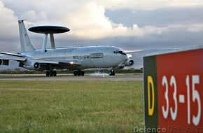 NATO AWACS - Air Force Exercise