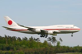 Boeing 747-400 Japan Air Force