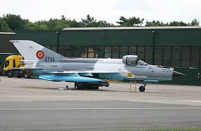 MiG 21 Romania Air Force