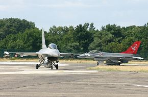 F-16BM Denmark Air Force