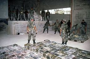 Mexican Army drug bust