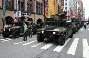 Army Vehicles at Military Parade - Taiwan Armed Forces