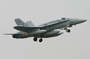 EF-18A Hornet Spain Air Force