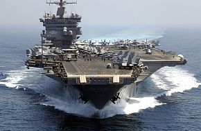 Nuclear-powered aircraft carrier USS Enterprise