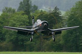 Vought F-4U Corsair Red Bull