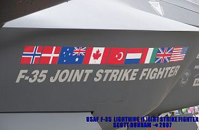 USAF F-35 Lightning II Joint Strike Fighter