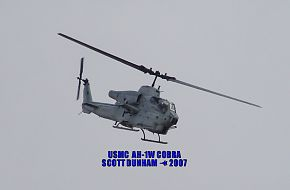 USMC AH-1W Cobra Attack Helicopter