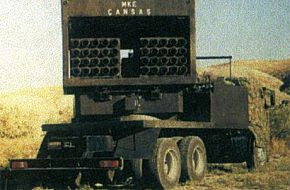 122 mm Multiple  Rocket Launcher