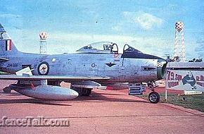 RAAF CAC Sabre from 79 Sqdn in Thailand