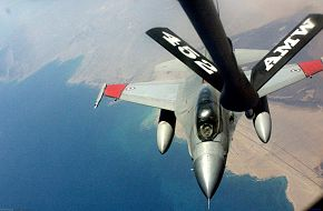 Egyptian F-16D Air-refueling