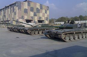 Pakistani Army Tanks at HIT Factory