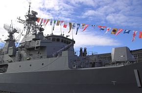 HMAS Parramatta in Hobart Feb 2008