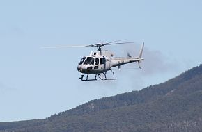 AS-350BA Squirrel at Royal Hobart Regatta
