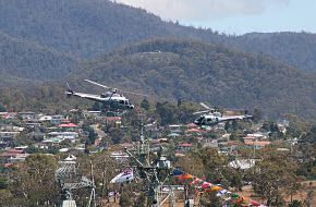 AS-350BA Squirrels at Royal Hobart Regatta