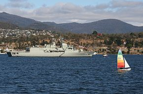 HMAS Parramatta at Royal Hobart Regatta