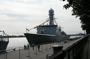 Danish ships from exercise Danex 05