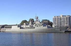 HMAS Warramunga FFH 152 in Hobart