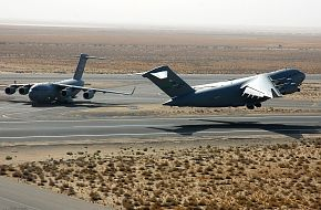 C-17 US Air Force (USAF) Transport Aircraft