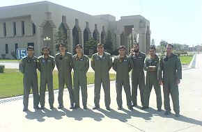 Sherdils team pilots, 23rd march 2008 pakistan day parade