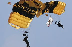 US Army Golden Knights Parachute Team