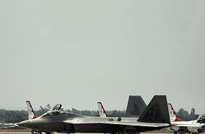 USAF F-22 Raptor Stealth Fighter
