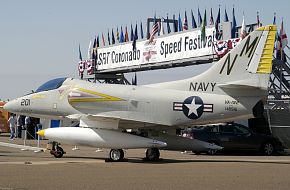 US Navy A-4 Skyhawk Fighter