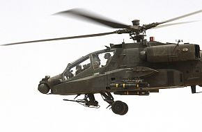 US Army AH-64 Apache Longbow Attack Helicopter