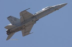 US Navy F/A-18C Hornet Fighter