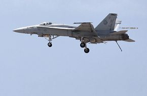 US Navy F-18C Hornet Fighter