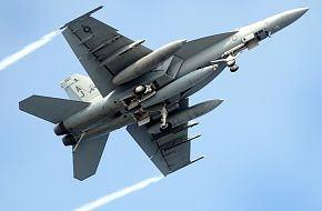 US Navy F/A-18 Super Hornet Fighter Operation Brimstone