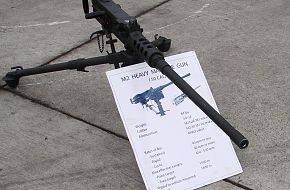U.S. M-2 .50 Caliber Machine Gun