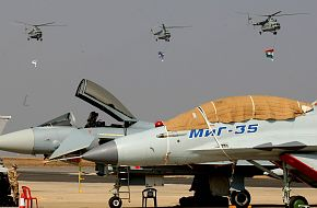 Fighter Aircraft at Aero India 2009 Air Show