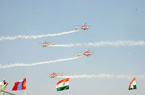 Helicopter Team - Aero India 2009, Air Show