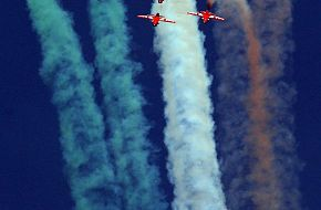 Aerobatic team - Aero India 2009, Air Show