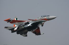 Su-30 Fighter Aircraft - Aero India 2009, Air Show