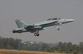 F-18 Combat Aircraft, US Navy - Aero India 2009 Air Show