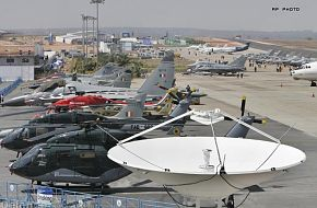 Aircraft at the Aero India 2009 Air Show