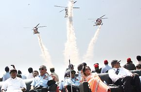 Helicopters - Aero India 2009 Air Show