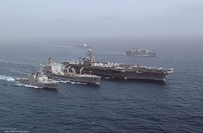 USS John F. Kennedy (CV 67) aircraft carrier