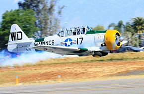USMC SNJ Texan Trainer
