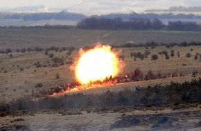 Bomb Shock Wave - British Army Firepower