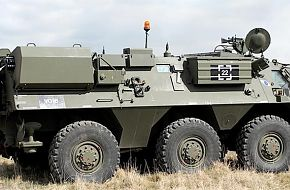 Amphibious reconnaissance vehicle - British Army Firepower