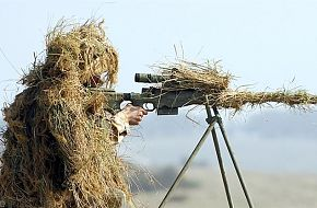 A Sniper - British Army Firepower