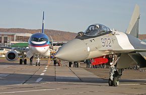 Su-35 Fighter Aircraft - Russian Air Force